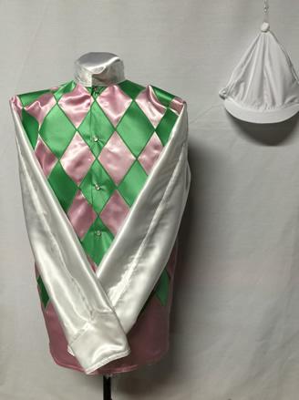 pinkgreendiamondssilversleeves